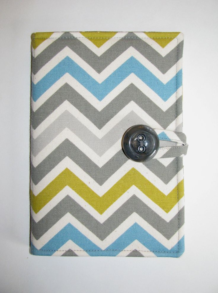 eReader Case, Kindle Case, Kindle Fire Case, Kindle Touch Cover, Kobo Vox Cover, eBook Case- Book Style- Summerland Chevron/Zigzag. $32.00, via Etsy.