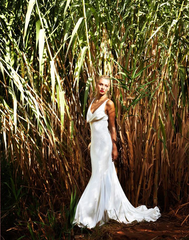 i would wear this kind of wedding dress, not too simple but not too much.
