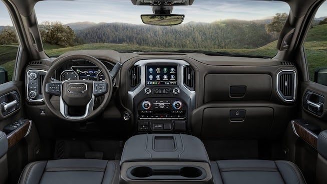 2020 Gmc Sierra Denali Interior The Difference Between The