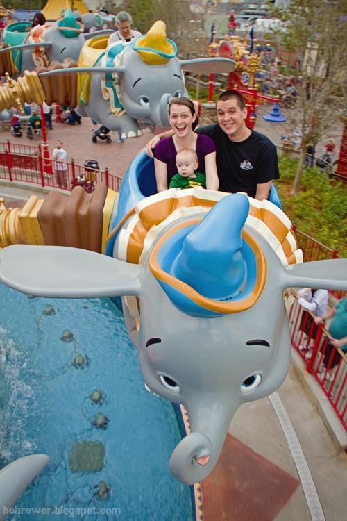 Love this pic! - Dumbo ride at the New Fantasyland at Walt Disney World!