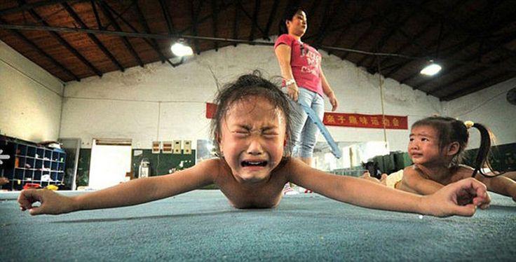 La inocencia robada de las niñas chinas