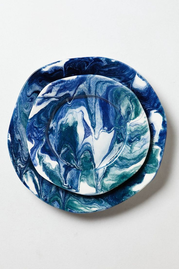 Sea-Flecture Dinner Plate - anthropologie.com. They have the most unique/beautiful kitchen accessories!