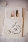 Bicycle Themed Wedding by Mabyn Ludke Photography | Style Me Pretty