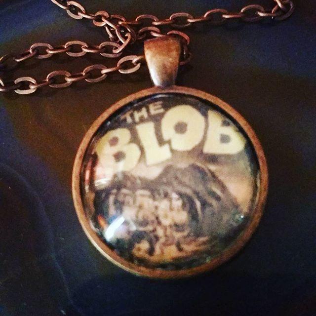 ☆The blob necklace ☆ click the link in my bio to purchase #roadkilljill #roadkilljillcreations #horror #horrorjewelry #crafty #handmade #horrorfan #horrorlover #retrohorror