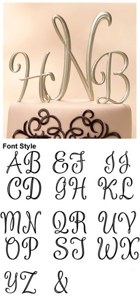 wedding cake topper monogram initials 1000 ideas about monogram wedding cakes on 8808