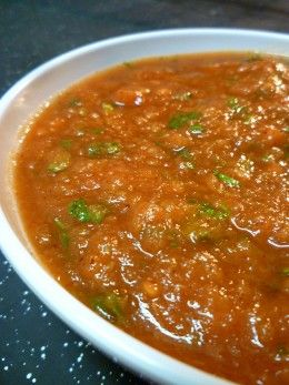 Homemade Mexican Salsa Recipe