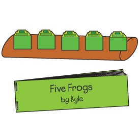 five green and speckled frogs song raffi