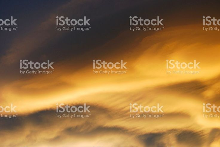 Cloudy sky at sunset royalty-free stock photo