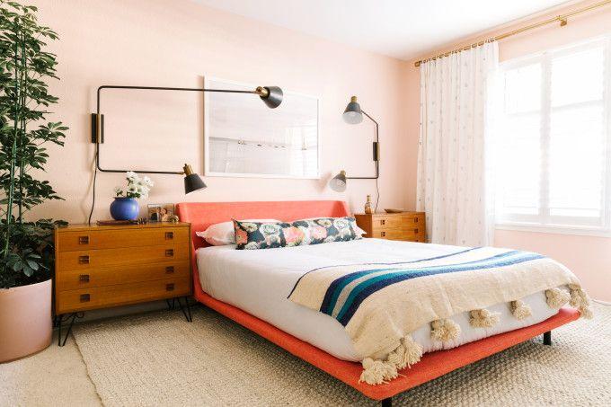bedroom design make over with magnetic walls