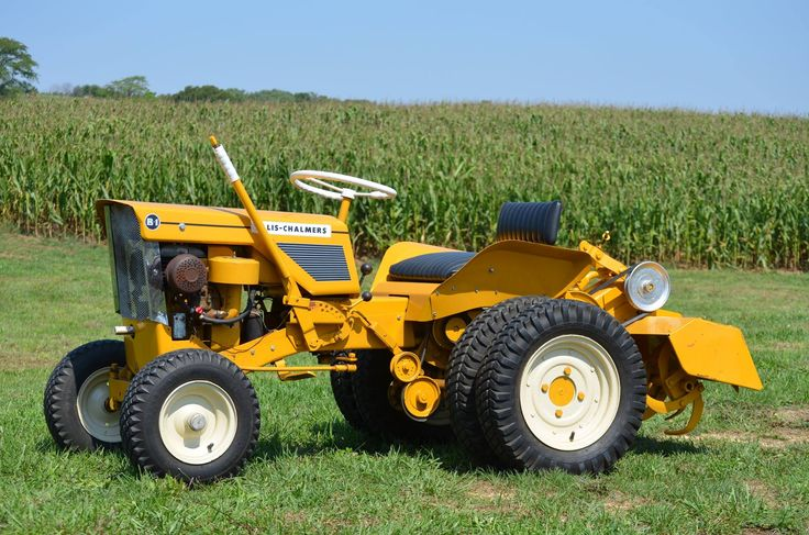 1962 Allis Chalmers B1 With Rotary Tiller Attachment