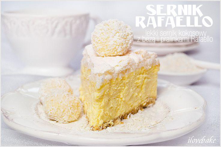 Lekki jak chmurka, kremowy, delikatny to tylko niektóre zalety tego sernika. Ciasto ma śmietankowy smak z kokosową chmurką bezową.…