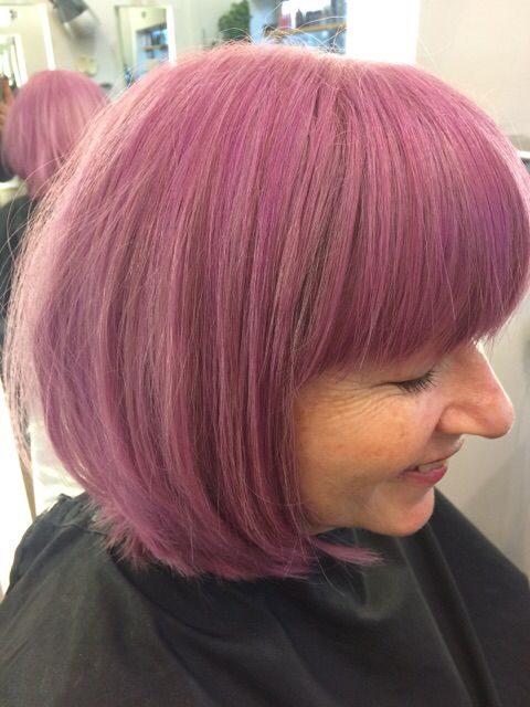 Lovely lilac in the salon today