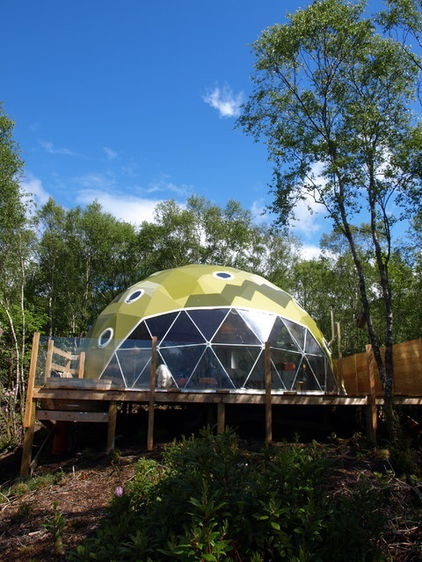 modern exterior by Go Glamping, geodesic dome.