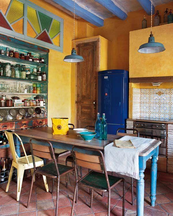 Une maison très joyeuse en Espagne - PLANETE DECO a homes world