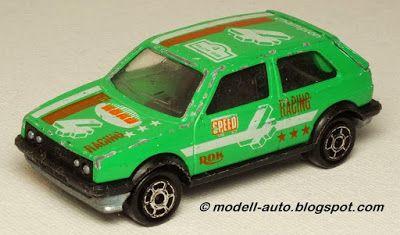 Majorette No 235 VW Volkswagen Golf GTI 1988