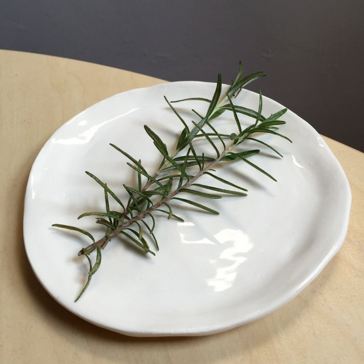 hand formed plate by robfullerceramics on Etsy