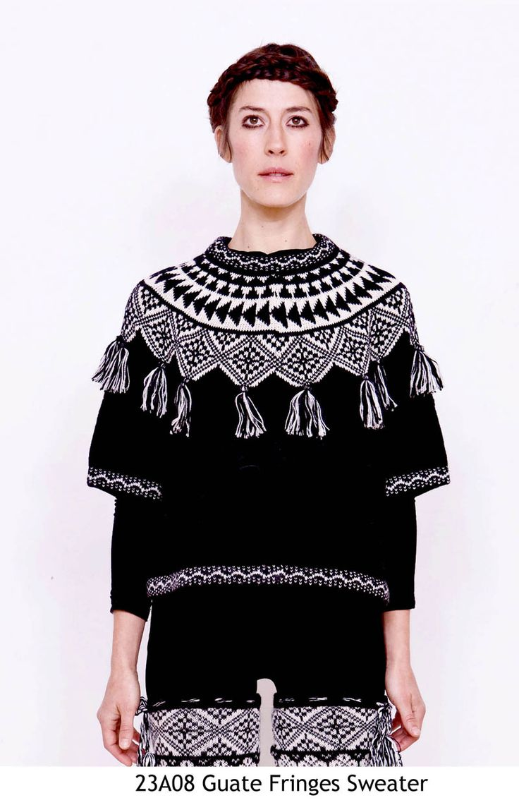 Guate Fringes Sweater