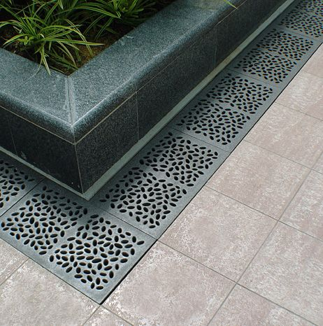 17 best ideas about drainage grates on pinterest trench for What does a french drain look like