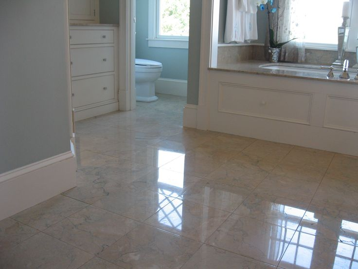 Restoration Of Marble Floor In Scituate Ma Customer Called Concerning The Current Condition Of Her Marble Floor In The Master Bathroom We Mad Pinteres