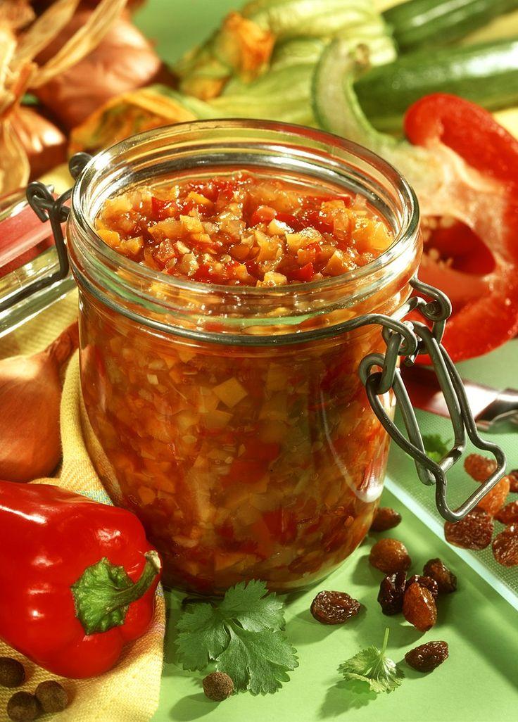 Mediterranes Gemüse-Relish - smarter - Zeit: 1 Std. 20 Min. | eatsmarter.de