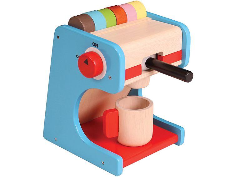 spielba NJOYKIDS Kaffeemaschine mit Kapseln