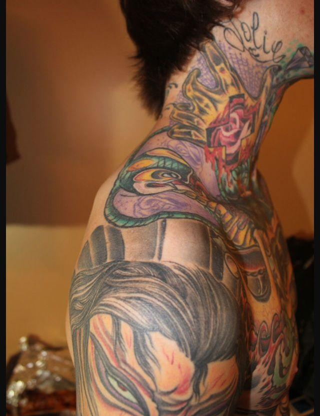 Mitch Lucker Face Tattoos