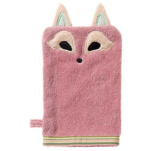 Playful Fox Organic Baby Bath Mitt. The perfect beautiful and unique gift on their own or as part of a gift box!