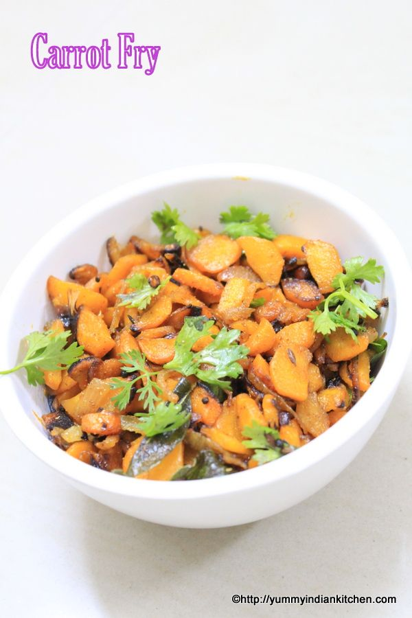 Carrot fry recipe is a veg stir fry vegetable recipe often goes well with phulka or chapati and is a healthy side dish to be included in our diet once in a while.#carrotfry #vegrecipes