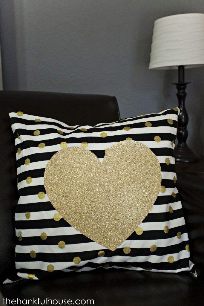 Throw Pillows One Kings Lane : DIY Kate Spade Inspired Throw Pillow Copycat Home Decor Pinterest Throw pillows, DIY and ...