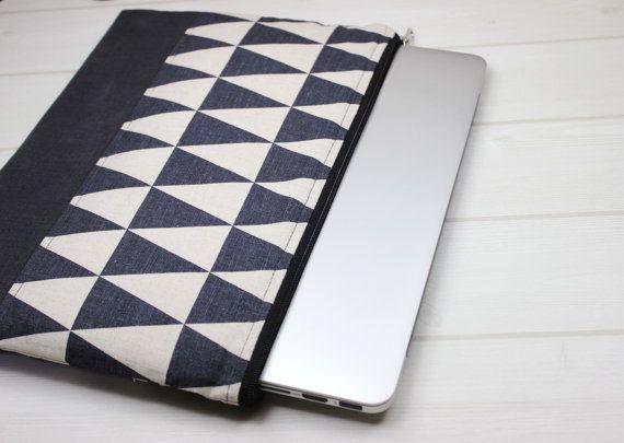 Coque MacBook Air 13 pouces pour ordinateur portable, pochette Macbook Pro, housse de portable avec fermeture éclair, nordique pour ordinateur portable, charbon de bois pour ordinateur portable, douille de Macbook 13