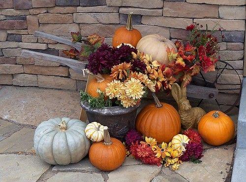 Делаем украшения из тыквы для сада, дачи и дома своими руками (38 фото) | Дары природы | DecorWind.ru