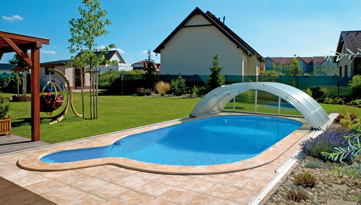 Samonosný bazén - Ovál