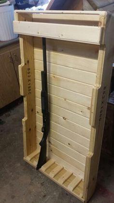 20 best Vertical Gun Rack Ideas images on Pinterest | Gun racks ...