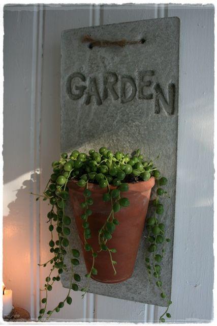 concrete plant holder