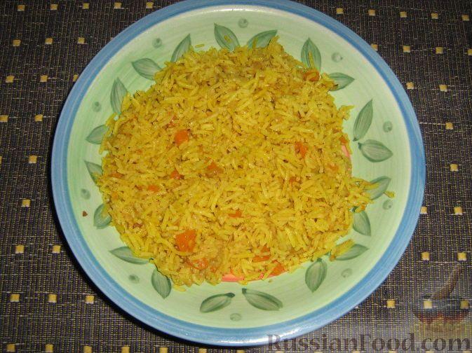 Фото приготовления рецепта: Рис басмати с карри - шаг №9