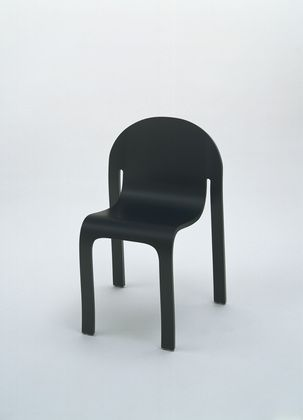 Bodyform Side Chair Peter Danko (American, Born 1949) 1980. Molded Plywood  With