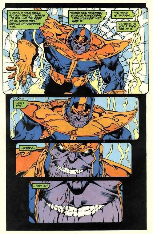Drax vs thanos thanos of titan v gemini saga - Spacebattles com ...