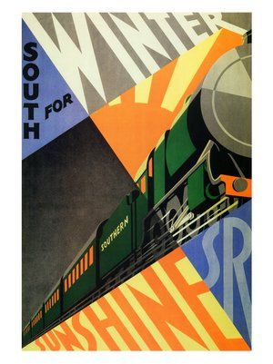 Southern Railways - Cool poster