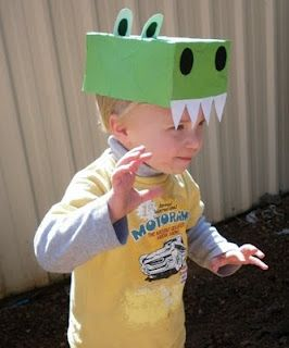 Dinosaur Hat....really cute.