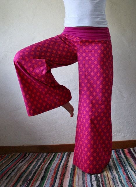 Unique attractive and stylish bell bottom trousers by funkyBINTA, $32.00