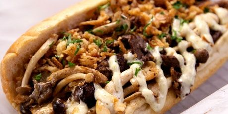 The Big Shot Cheesesteak from The American Cheesesteak Restaurant in BC - from You Gotta Eat Here show on Foodnetwork
