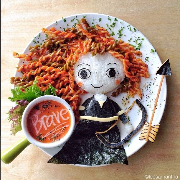 Cómo hacer atractivos los platos de comida para los niños y niñas