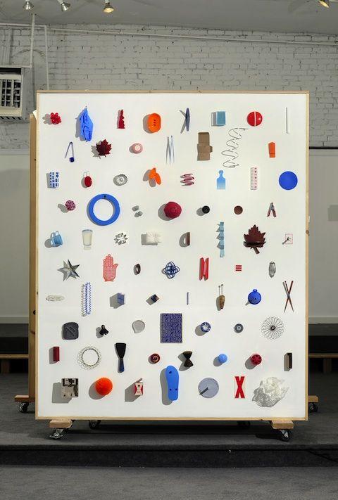 object arrangement installation