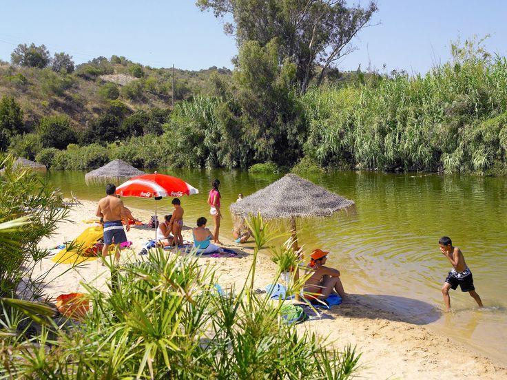 Turismo do Algarve: 1001 Praias: Praia Fluvial de Alcoutim – Pego Fundo