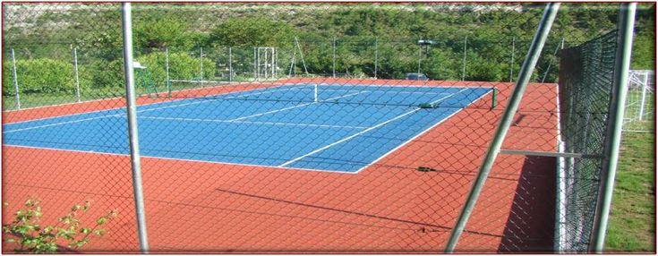 Tennisbana i Brig