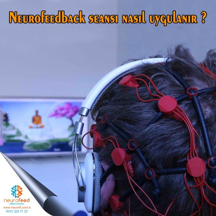 Neurofeedback seansı nasıl uygulanır ?  Her seans, daha önceki seanstan sonraki etkilerin irdelenmesiyle başlar.  Seanslardan daha fazla verim alabilmek için hasta ve/veya ailesiyle iyi bir işbirliği sağlamak gereklidir. Çoğu Neurofeedback uygulamasında 3 elektrot gereklidir. Bunlar kafa derisi üzerine krem vasıtasıyla yapıştırılır ve, yapıştırıldıkları bölgede beyin tarafından yaratılan elektriksel güç (potansiyel) değişikliklerini ölçerler.Randevu için : 0 (212) 351 17 37