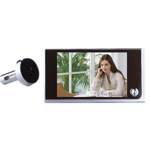 Лидер продаж по всему миру многофункциональный домашний безопасности 3.5 дюйма ЖК-дисплей Цвет TFT памяти Дверь глазок Дверные звонки безопасности Камера Новый Видеоглазок-звонок