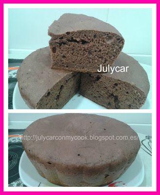 Recetas Dukan By Julycar: Bizcocho de pudin de chocolate