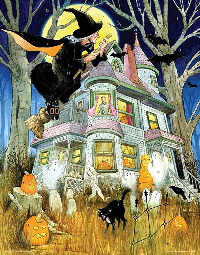 All Hallows Eve Halloween Countdown Calendar Advent Calendar Hallows Eve Halloween C Halloween Countdown Calendar Halloween Calendar Halloween Countdown