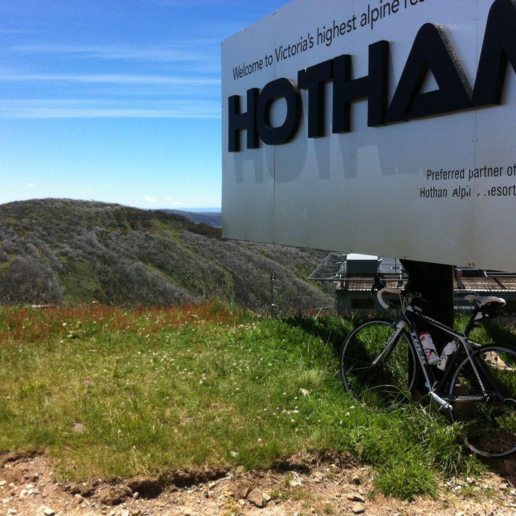 Summit shot at Mt Hotham, Victoria, Australia